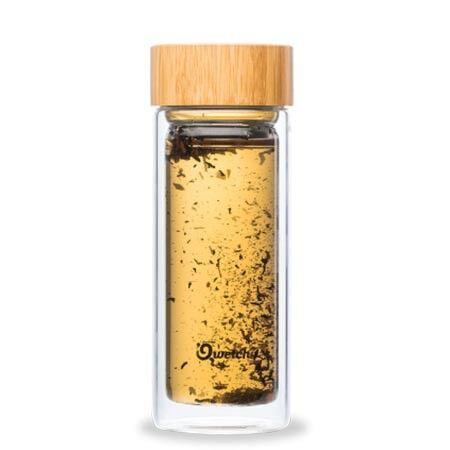 Qwetch Théière Nomade en verre BambouPièce