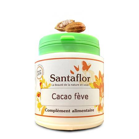 Santaflor Cacao fève gélules120 gélules gélatine bovine