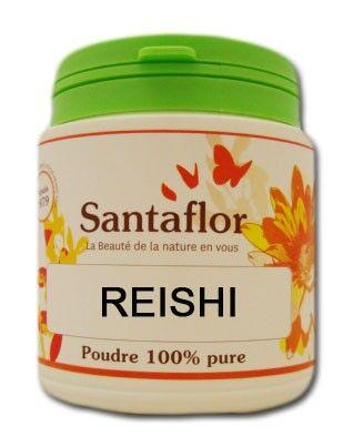 Santaflor Reishi - poudrePot de 100 g. de poudre