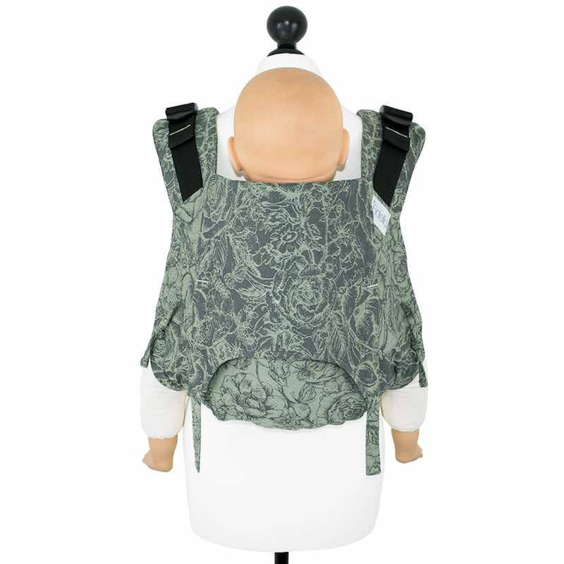 Fidella porte-bébé Fidella Onbuhimo V2 Wild Rose vert mousse