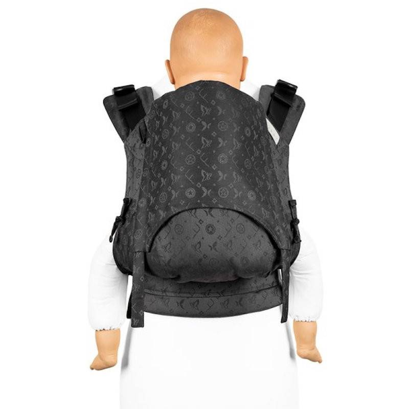 Fidella porte-bébé Fidella Fusion 2.0 Fullbuckle Saint Tropez beau noir - Porte-bambin