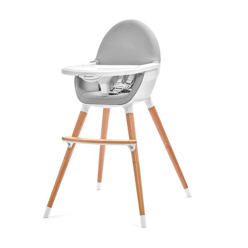 Kinderkraft Fini Gris - Chaise h...