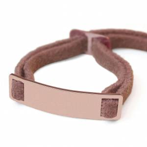 Mikado Bracelet Skin - Or rose 18ct - Publicité