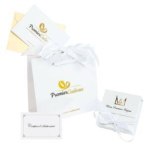Mon Premier Bijou Boucles d'oreilles coeurs et Perles - Puces - Or jaune 18ct - Publicité