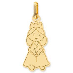 Mon Premier Bijou Pendentif fée - Or jaune 18ct - Publicité