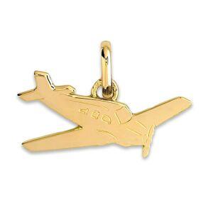 Mon Premier Bijou Pendentif avion - Or jaune 9ct - Publicité