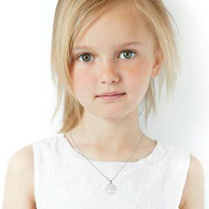 Mon Premier Bijou Médaille Arbre de vie luxuriant - Or blanc 18ct - Publicité