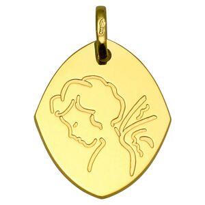 Mon Premier Bijou Médaille Ange goutte - Or jaune 9ct - Publicité