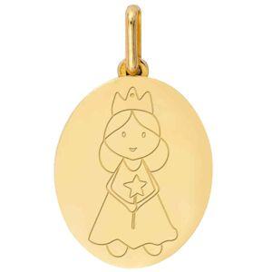 Mon Premier Bijou Médaille Petite Fée - Or jaune 18ct - Publicité