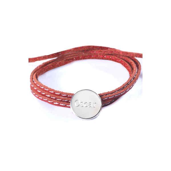 Petits Trésors Bracelet Amazone Médaille - Argent massif