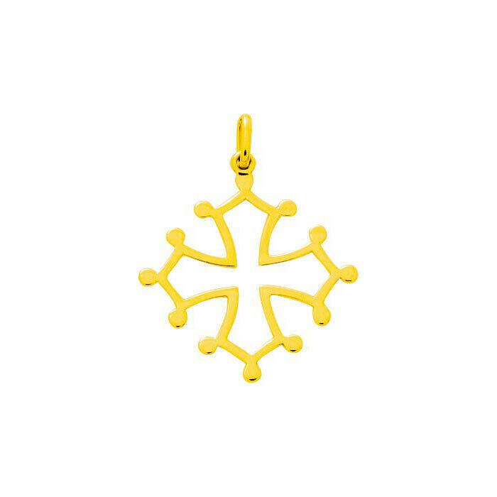 Mon Premier Bijou Croix Occitane - Or jaune 18ct