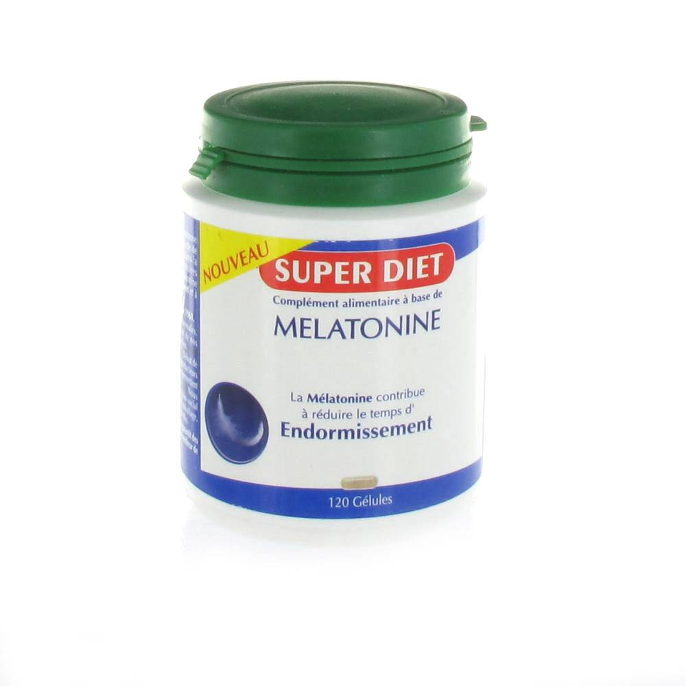 SUPERDIET MELATONINE 120 GELULES