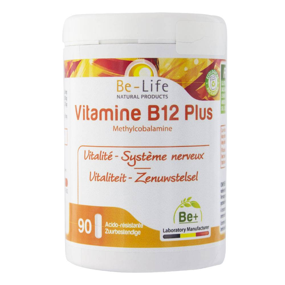 BIO-LIFE BE LIFE VITAMINE B12 PLUS 90 GELULES