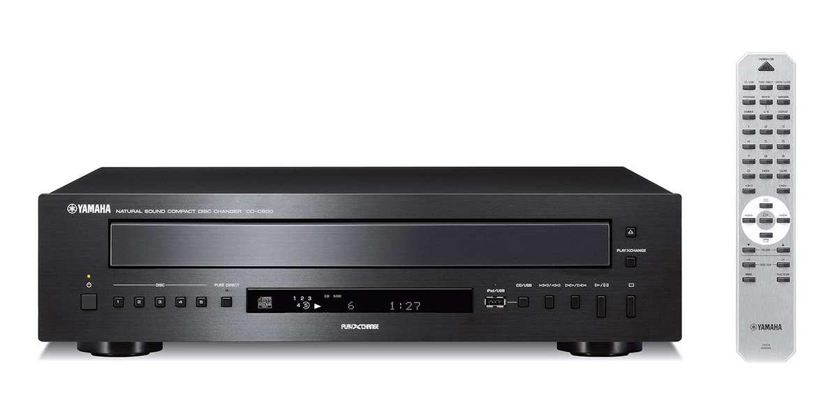 Yamaha CD-C600 Noir