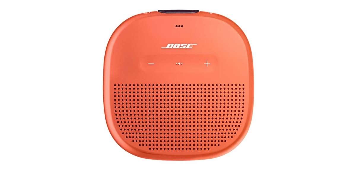 Bose soundlink micro bright orange