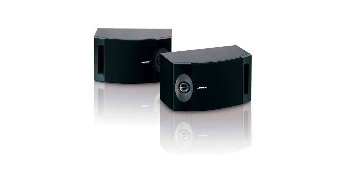 Bose reflecting 201 noir - la paire