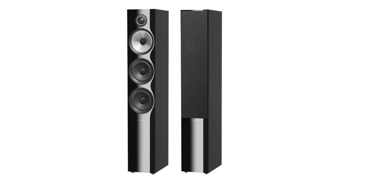 B&W 704 s2 gloss black - prix unitaire