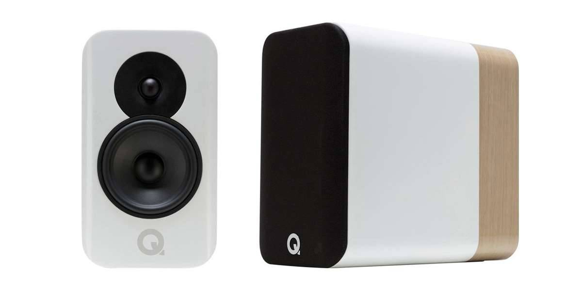 Q Acoustics concept 300 white oak - prix unitaire