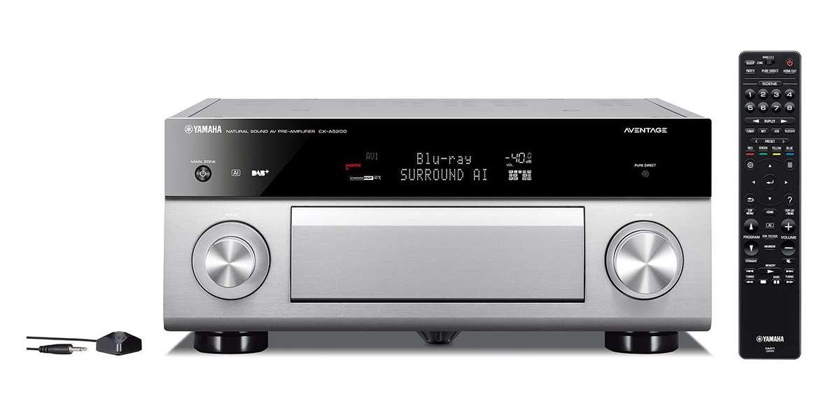 Yamaha cx-a5200 silver