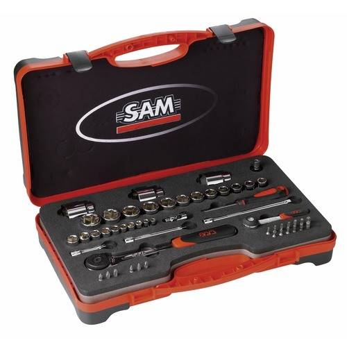 SAM OUTILLAGE Coffret 52 outils - radio et standard - 75 RS1Z SAM OUTILLAGE