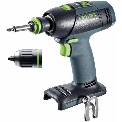 FESTOOL Perceuse visseuse sans fil 18 V T18+3 Li 5,2 Plus-sans batterie FESTOOL