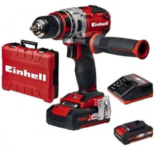 EINHELL Perceuse visseuse sans fil - 18 volts - 2 batteries - brushless TE-CD EINHELL