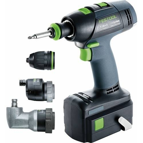 FESTOOL Perceuse visseuse sans fil 18V T18 + 3 Li 5,2 Set FESTOOL