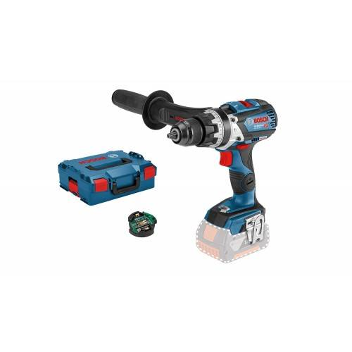 BOSCH Perceuse à percussion GSB 18V-85 C Connectée coffret L-Boxx - solo BOSCH