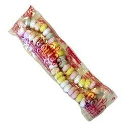 Patrelle Sac de 100 colliers en bonbon dextrose EMBALLES INDIVIDUELLEMENT les colliers de bonbons indémodables enveloppés à 0.14 € l'unité !