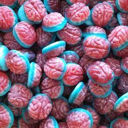 DULCEPLUS Cerveaux lisses en sac de 1 kg bonbons gélifiés lisses à 3.50 € le kilo !