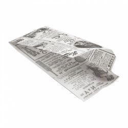 Garcia de pou Sac à Hot Dog 9 + 3 x 22cm ouvert sur 2 côtés TIMES x 500 Réf 226.70 - en papier ingraissable 34 g/m²