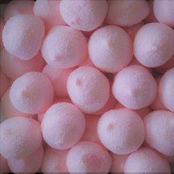 Dolciaria Balle de golf Noix de Coco ROSE 750g marshmallow saupoudrée de noix de coco !