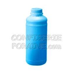 Confiserie Foraine Concentré goût TROPICAL BLEU LAGON pour machines à granité Bidon de 1 Litre (+ sucre et eau selon mode d'emploi) = 43 litres de granité !
