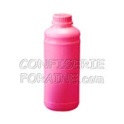 Confiserie Foraine Concentré goût GRENADINE pour machines à granité Bidon de 1 Litre (+ sucre et eau selon mode d'emploi) = 43 litres de granité !