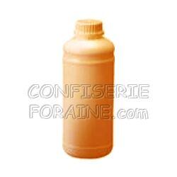 Confiserie Foraine Concentré goût PÊCHE-ABRICOT pour machines à granité Bidon de 1 Litre (+ sucre et eau selon mode d'emploi) = 43 litres de granité !