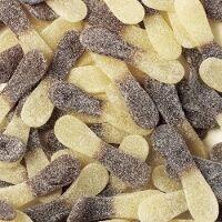 LUTTI Langues Citricola en sac de 2 kg langues citriques au bon goût de cola et qui pétillent fortement à 5.45 € le kilo !