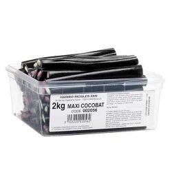 HARIBO Maxi Cocobat en boîte de 2 kg 40 cocobats géant de 13 cm environ à moins de 23 centimes pièce !
