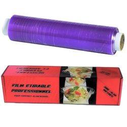 Garcia de Pou Film étirable alimentaire 300 m x 45 cm en boîte distributrice agréé pour contact alimentaire à l'exception des graisses et huiles pures