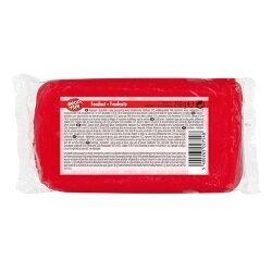 Hamlet Pâte à sucre ROUGE 250 g idéale pour la décoration en pâtisserie