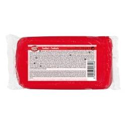 Hamlet DECOFUN - Pâte à sucre ROUGE - Carton de 12 x 250 g soit 1,33 € les 250g de pâte à sucre !