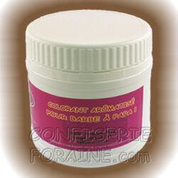 Confiserie Foraine Colorant barbe à papa aromatisé CHOCOLAT NOISETTE poids net : 500 g - Usage professionnel pour l'élaboration de sucre à barbe à papa