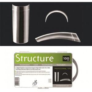 Beauty Nails Capsule Structure transparentes - 100 tips Beauty Nails - Publicité