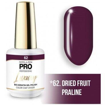 Mollon Pro Vernis semi-permanent LUXURY N°62 Fruits secs pralinés Mollon Pro - 8ML