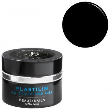 Beauty Nails Plastilin 4d black tied 5g Beauty Nails GP103-28