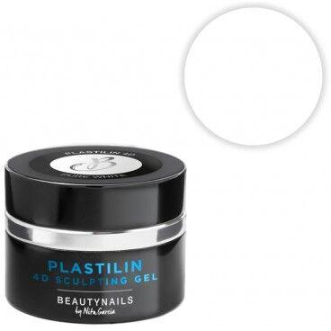Beauty Nails Plastilin 4d - pure white 5g Beauty Nails GP104-28