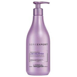 L'Oréal Professionnel Shampooing Lissage Intense Liss Unlimited 500ml - Publicité