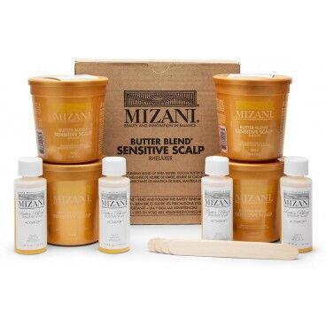 Mizani Butter Blend Défrisage Doux Boite de 4 kits