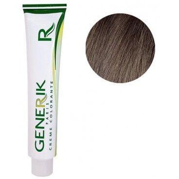 Generik Génik Coloration Sans amoniauqe N°6.15 Blond Foncé Cendré Acajou 100 ML
