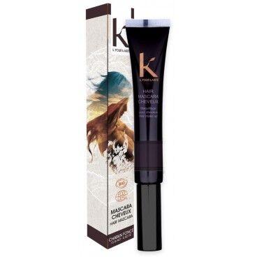 K pour Karité Mascara cheveux ton sur ton 3 châtain foncé K POUR KARITE 15g