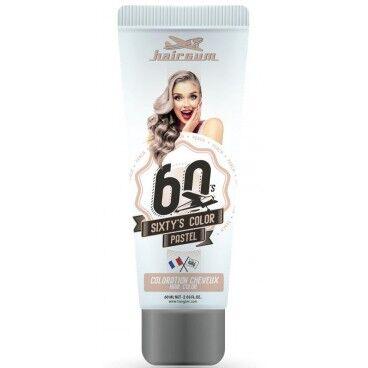 Hairgum Crème colorante Sixty's Color - Pêche HAIRGUM 60ML